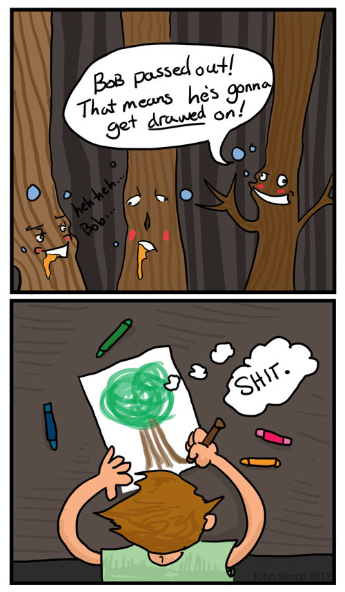Drinking with the Wrong Trees